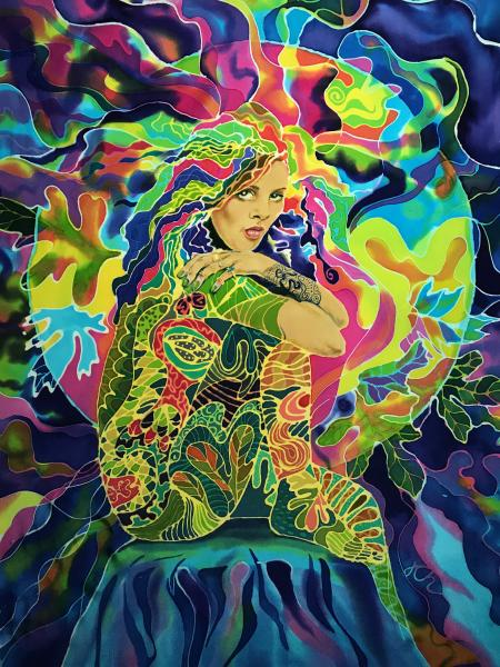 Julie Cox-Hamm, Colorful Woman