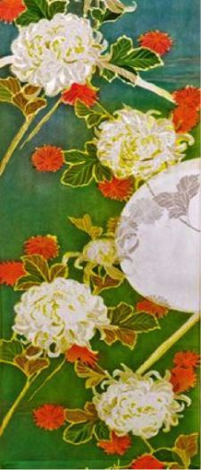 Mary Edna Fraser, Moonlit Chrysanthemum