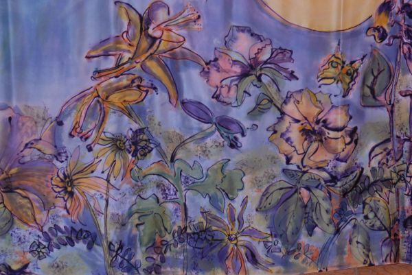 Chapter Quilt 2014, Rocky Mountain Silk Painters