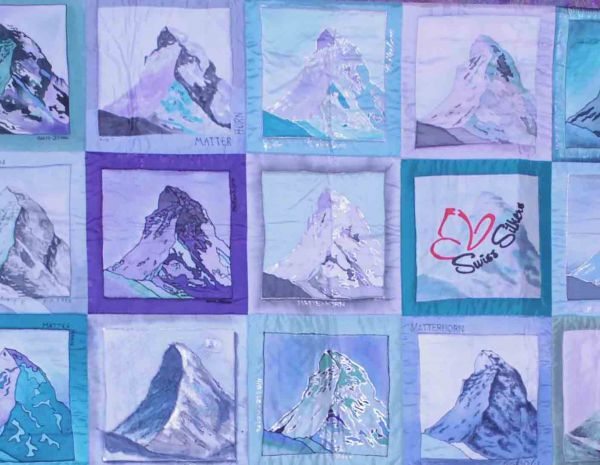 Chapter Quilt 2014, Swiss Silkers