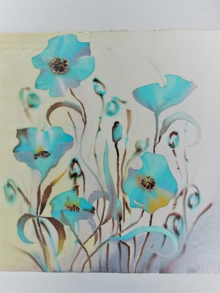 Rumiya Shcheulova, Blue poppies