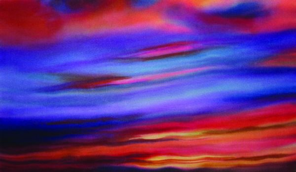 Diane Lawrence,Sunset with Gold